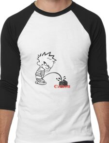 Canon Pee Men's Baseball ¾ T-Shirt