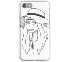Floppy Hat iPhone Case/Skin