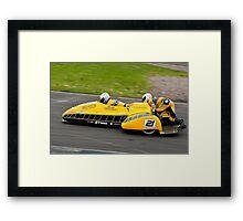 Sidecar F1 Framed Print