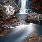 Inversnaid Waterfall by Chris Cherry