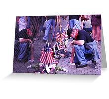In Remembrance - Vietnam Veteran's Memorial Greeting Card