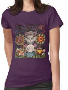 Madame Kitty Womens Fitted T-Shirt