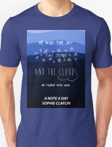 The Sky, the Stars, and the Clouds Unisex T-Shirt