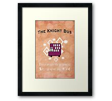The Knight Bus! Framed Print