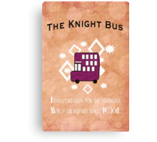 The Knight Bus! Canvas Print
