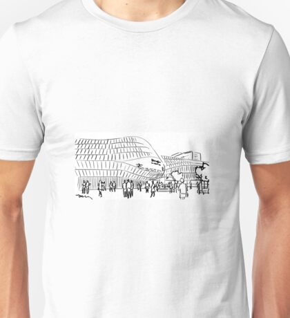Line drawings Unisex T-Shirt