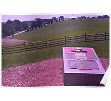 Site of the Woodstock Music Festival - August 15,16,17, 1969 Poster