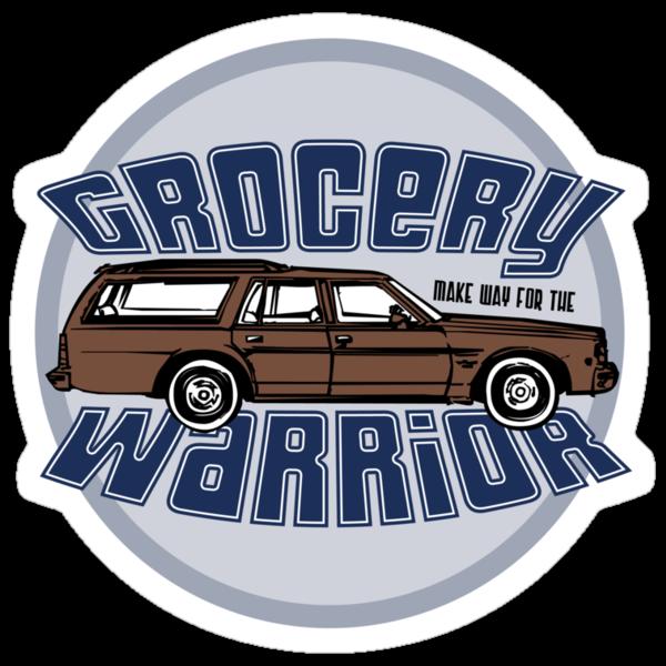 Grocery Warrior by LTDesignStudio