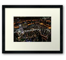 Khalifa Heights Framed Print