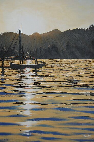 Windemere sunset by Paul Fearn