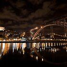 D. Luis Bridge, Oporto, Portugal by Helder Ferreira