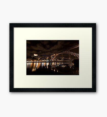 D. Luis Bridge, Oporto, Portugal Framed Print