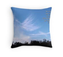 From the Ends of the Earth Throw Pillow