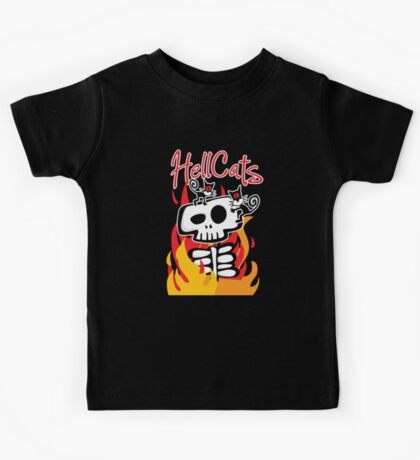 hellcats ... feeding time Kids Tee