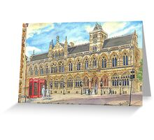 Guild Hall, Northampton, UK Greeting Card