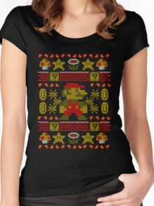 Super Ugly Sweater Women's Fitted Scoop T-Shirt