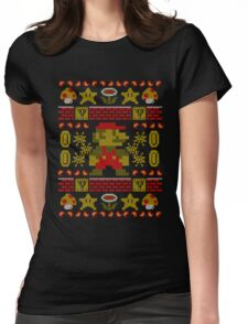 Super Ugly Sweater Womens Fitted T-Shirt