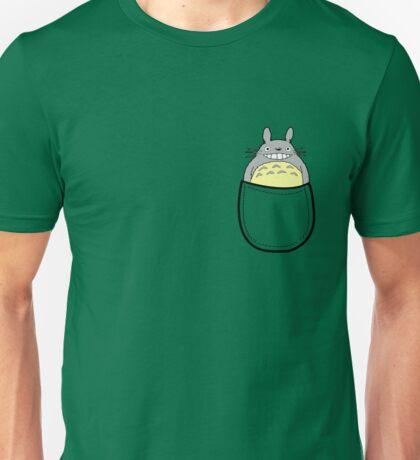 Pocket totoro. Anime Unisex T-Shirt