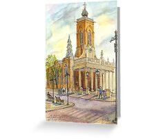 All Saints church, Northampton, UK Greeting Card