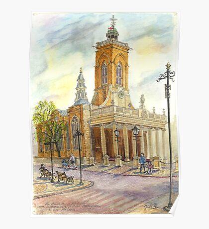 All Saints church, Northampton, UK Poster