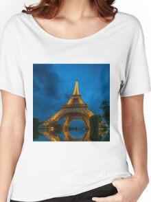 Eiffel Women's Relaxed Fit T-Shirt