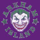 Arkham Island by castlepop