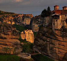 Monasteries of Meteora #2 by Peter Hammer