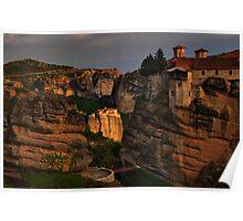 Monasteries of Meteora #2 Poster