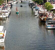 Rideau Canal - Ottawa, Ontario by Josef Pittner