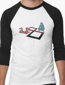Tron Slot Light Cycles Men's Baseball ¾ T-Shirt