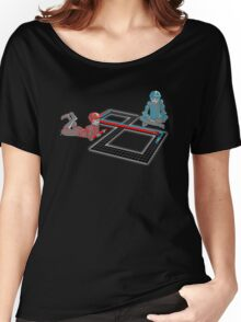 Tron Slot Light Cycles Women's Relaxed Fit T-Shirt