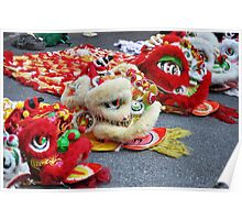 Enter the Dragons! Chinese New Year Poster