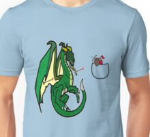 Dragons and Knights Unisex T-Shirt