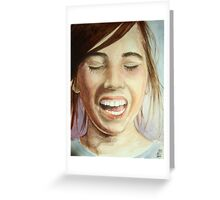 I Love to Laugh Greeting Card