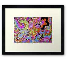 Doodly Doodles Framed Print