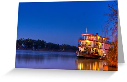 Ps Marion on night fall by Dave  Hartley