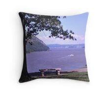 Hudson River from West Point Throw Pillow
