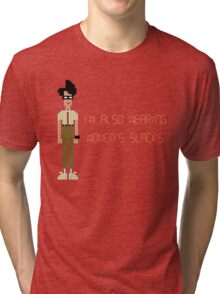 The IT Crowd – I'm Also Wearing Women's Slacks Tri-blend T-Shirt