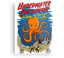 Mutant Octopus Metal Print