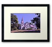 Church in Hudson Valley Framed Print