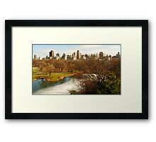 Winter in Central Park Framed Print