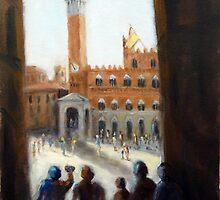 Admiring Siena (Italy) by Ivana Pinaffo