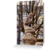 Where are the leaves - I'm cold Greeting Card