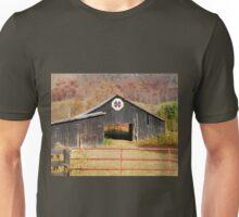 Kentucky Barn Quilt - Octagon Variation  Unisex T-Shirt