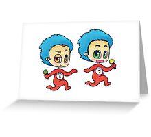 Dick n' Matt Karaoke Things Greeting Card