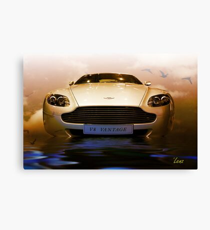Aston Martin V8 Vantage Canvas Print