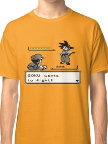 Crossover Pokemon - Dragonball Coloured balls Classic T-Shirt