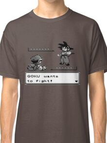 Crossover Pokemon - Dragonball Classic T-Shirt