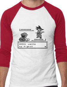 Crossover Pokemon - Dragonball Men's Baseball ¾ T-Shirt