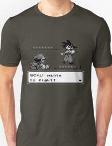 Crossover Pokemon - Dragonball Unisex T-Shirt